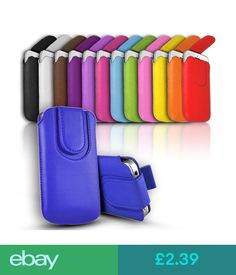 Cases & Covers Quality Magnetic Close Leather Pull Tab Case Cover Sock For Various Phones #ebay #Electronics