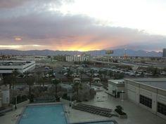 Vegas sunset
