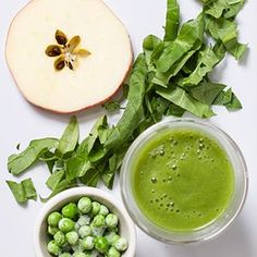 Apple + Spinach + Pea Puree