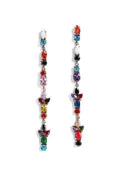 Iosselliani - Dangling Multicolor Earrings BONA DRAG