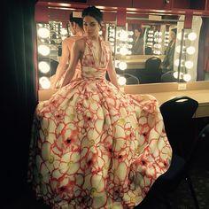 This dress though... ❤️❤️❤️❤️ #TonyAwards