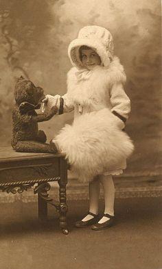Vintage American photo, Julesburg, Colorado studio, c. 1920.