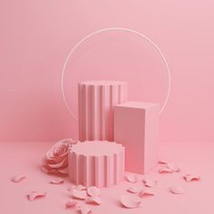 Abstract mock up pastel color Scene, pink geometric shape podium rendering. - Buy this stock illustration and explore similar illustrations at Adobe Stock Pink Abstract, Abstract Shapes, Geometric Shapes, Bubble Tea, Background 3d, Adobe, Futuristic Background, Pink Wallpaper, Photography Backdrops