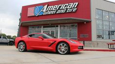#SaviniDiamond #Wheels Sesto in Chrome on a #Chevrolet #Corvette. 19x9.5 front with 255/40-19 and 20x11 rear with 305/30-20 #Pirelli #tires. #SaviniDiamondWheels #SaviniWheels #Savini #ChevroletCorvette ChevyCorvette #Stingray #Pirellitires - http://www.americanwheelandtire.com/  We finance! No credit needed! $49 down! Instant approval! 90% approval rating! 90 day option! #Financing #WheelFinancing  Call us at (713)682-1085 for more information or apply online: http://tinyurl.com/z4cr3do