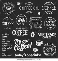 krijtbord tekst koffie - Google zoeken