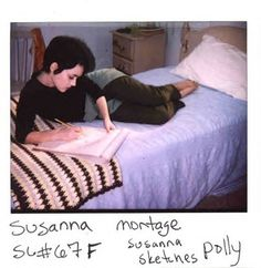 Polaroids of Winona Ryder from the set of Girl, Interrupted...