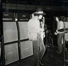 With Eric Barrett: Rehearsals: Royal Albert Hall: London, England 1969-02-24