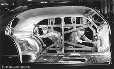 The Inside Story – A Film and Photos of the 1950 Chevrolet Body by Fisher: The Fisher Body Co. was one of the most advanced of its type in the world. See an excellent video and images showing how the builder produced bodies at: http://theoldmotor.com/?p=130388