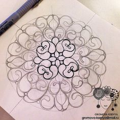 А я все обвожу( #молескин #Moleskine #мандала #графика #орнамент #узор #graphic #art #акварель #watercolor #mandala #ornament #pattern #drawing #рисунок #geometry #zentangle #зентангл #sketch #paint #instagood #drawing #artwork #tattooart #tattoo #henna   by Gromova_Ksenya