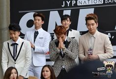 20141213 Press Conference - JYPNATION IN BANGKOK 2014, Impact Arena