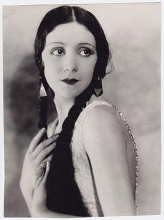 VINTAGE 1929 Rosita Moreno STAMPED George Maillar Kesslere DBL W. press photo