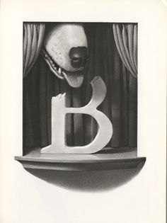 """Act 2  """"The B was badly bitten""""  The Z Was Zapped by Chris Van Allsburg"""