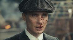 Cillian Murphy as Badass Gangster Thomas Shelby Peaky Blinders 💜