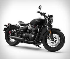 Triumph has just revealed the Bobber Black, a darker, meaner and stronger version of their popular Bonneville Bobber, the fastest-selling Triumph ever produced. The blacked out version is more than just a new color option, as Triumph has added a fat