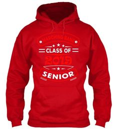Marching Band Seniors 2019 - Red - Hoodie
