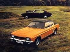 Ford Capri I 1972-1974. We had a few of these growing up!