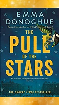 Emma Donoghue author/ The Pull of the Stars by Emma Donoghue/ Literary Fiction/ Book club read/ Even though I have given birth to two sons, The Pull of the Stars by Emma Donoghue was still an education! It focuses on childbirth in Ireland during the Spanish flu pandemic of 1918, and is perhaps the most visceral novel I have ever read...