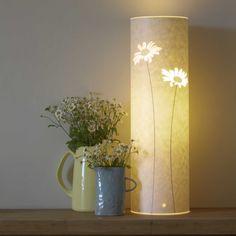 Tall Daisy Lamp, Hannah Nunn on etsy,  - West Yorkshire, England - beautiful range of lamps