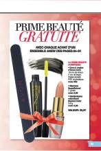 Avon Brochure Prime Beauté Gratuite