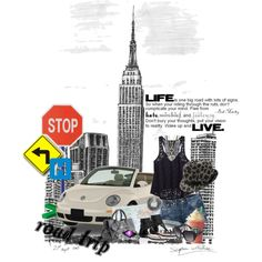 Road Trip (New York), created by thebeadclosetboutique.polyvore.com