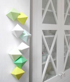 Une suspension géométrique DIY | DIY Loisirs Créatifs My Diy