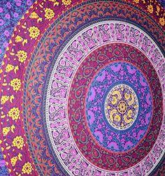 Popular Barhmeri Circle of Flowers Tapestry,Multi-colored... https://www.amazon.com/dp/B00VI6RE3Q/ref=cm_sw_r_pi_dp_x_3Aefyb0SVTAA7