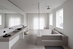 Contemporary bathroom design by Rolies + Dubois Contemporary Toilets, Contemporary Bathroom Designs, Modern Bathroom, Small Bathroom, Master Bathroom, Bathroom Ideas, Contemporary Interior, Modern Faucets, Black Bathrooms