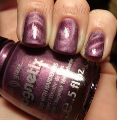 China Glaze Magnetix.    Incredibly cool!