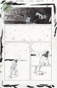 Felix Comic Art :: For Sale Artwork :: CONAN THE BARBARIAN by artist James Harren