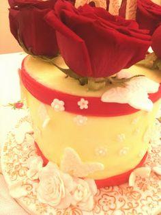 Roses cake. Natali's cooking