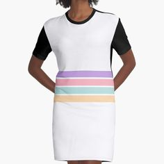 """""""Pastel Rainbow Stripes"""" by ind3finite 
