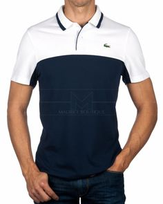 44d0358f4a978 Polo Lacoste - Azul Marino Linea Cartoon