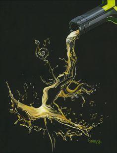Browse Artwork by Michael Godard - Park West Gallery Godard Art, Wine Colored Wedding, Wine Photography, Wine Art, Art Icon, Arte Pop, Mellow Yellow, Belle Photo, Art Day