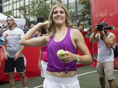 Canadian tennis player Eugenie Bouchard, in Montreal to compete at the Rogers Cup, announced Sunday she will go to Rio for the Olympics.- July 24, 2016