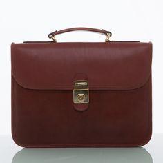 Cathy Prendergast Irish Designer Leather Handbags - Oscar Briefcase   Tan Leather Briefcase Leather Accessories, Fashion Accessories, Tan Leather, Leather Bags, Designer Leather Handbags, Leather Briefcase, Cool Tools, Men's Collection, Classic