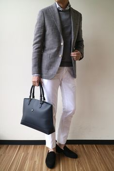Business Fashion, Business Casual, Fashion 2020, Mens Fashion, Suit And Tie, White Pants, Mens Clothing Styles, Wedding Suits, Outfit Sets