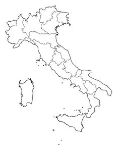 Outline map of italy printable with italy political map italy map outline cbys gumiabroncs