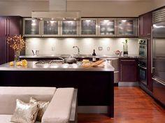 Foto: Las cocinas modernas de esta entrada del blog les encantarán: http://www.decoraciondeinteriores10.com/ambientes/decoracion-de-interiores-de-cocinas-modernas-e-innovadoras/