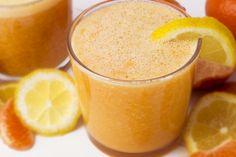 Recept: mandarijn smoothie met sinaasappel en banaan