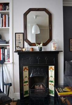 Most up-to-date Totally Free victorian Fireplace Remodel Concepts Browse our page for a little more regarding this astounding photo Brick Fireplace Log Burner, Craftsman Fireplace, Build A Fireplace, Cottage Fireplace, Tall Fireplace, Fireplace Seating, Fireplace Garden, Fireplace Cover, Victorian Fireplace