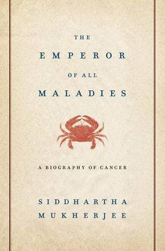 "The Emporer of all Maladies - Siddhartha Mukherjee. Dr. Cheson describes the book as well written and easy to read. ""It's a valuable lesson in how to deal with patients, how to deal with the system, and the importance of the history of oncology and hematology."""