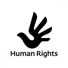 Interesting Logo: I like this logo because it has a hand to go along with the subject matter of Human Rights.