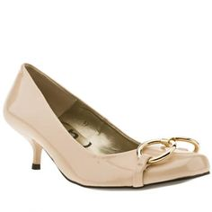 Women's Natural Schuh Ascot Snaffle Court Patent at Schuh