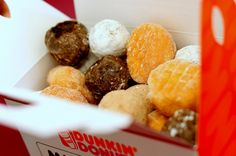 Dunkin Donuts box o' munchkins Get the Powdered ONLY and piled them in a bowl with a label that reads SNOWBALLS ... no pics... kids loved it.