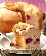 weight watchers lemon-raspberry pound cake
