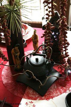 dcoration nuit de chine table pour mariage anniversaire - Chinagora Mariage