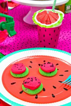 Watermelon Party! My Family Entertaining Tips! ⋆ Brite and Bubbly