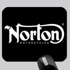 cool NORTON MOTORCYCLE PHOTO MOUSE PAD Norton Motorcycle, Custom Mouse Pads