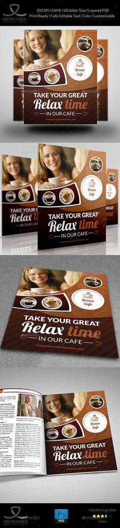 Cafe Restaurant Flyer Template Vol.3