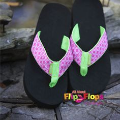 005cb1852 Buoy Flip Flops by Tidewater Pink Top View Top View